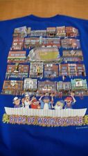 CHICAGO CUBS BARS OF WRIGLEYVILLE  LARGE BLUE T-SHIRT