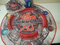 Bakugan Battle Brawlers Lot 15 Brawlers, Carrying Case, Arena, Ramps, Travel Bag
