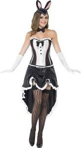 BNIB Smiffys Halloween bunny burlesque {Lapin Burlesque) costume medium 12-14
