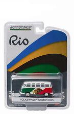 New Greenlight 1:64 Rio World Game Volkswagen Samba Bus Mexico 51037C Diecast