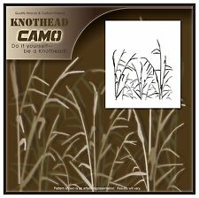 "1 Grass Stencil Camouflage Camo. 10mil Mylar Commercial Size 24.5""X40"""