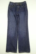 Women's Talbots Jeans Petites Boot Cut Size 2 Zipper Fly