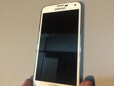 Samsung Galaxy S5 SM-G900V Verizon 16GB Shimery White No Burn In + Bat!