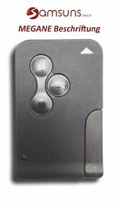 Tasto 3 chiave auto scheda SmartKey per RENAULT MEGANE II 2 CLIO SCENIC + notsch
