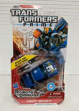 TRANSFORMERS PRIME ROBOTS IN DISGUISE HOT SHOT *NEW*MINT*
