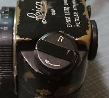 Leica M BLACK PAINT film rewind lever knob M4 M6 J M7 Repair Part *No Camera*