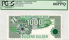 Netherlands 1000 gulden 1994 UNC 66 PPQ
