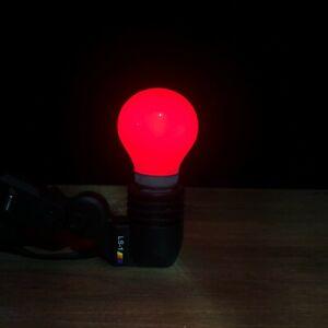 Red Light Bulb Film Developing Equipment Safeligh Dark Room 220v E27 Socket -C08