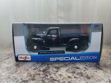 1950 Chevrolet 3100 Pickup Black 1:25 Diecast Car