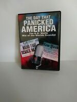 The Day That Panicked America (DVD, 2005) WAR OF THE WORLDS