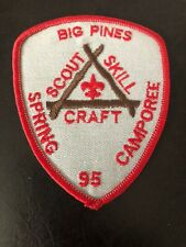 Big Pines Scout Skill Craft Spring Camporee '95