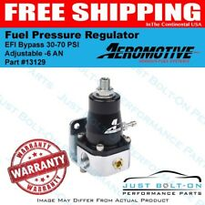 Aeromotive 13129 Fuel Pressure Regulator EFI Bypass 30-70 PSI Adjustable -6 AN