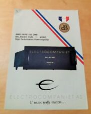ELECTROCOMPANIET Ampliwire 250 DMB - Brochure