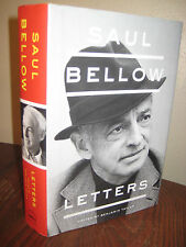 1st/1st Printing LETTERS Saul Bellow CORRESPONDENCE Nobel Pulitzer CLASSIC