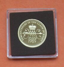 More details for 1989 proof two pound claim of rights £2 coin from royal mint proof set.