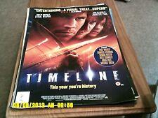 Timeline (billy connolly, paul walker, gerard butler) Movie Poster