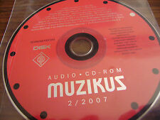 MUZIKUS audio CD-rom 2/2007