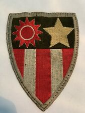 US Army Large China Burma India CBI Military Patch