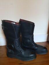 Dr Martens GARRICK waterproof Motorcycle Boots. UK Size 10 Brand New. Boxed.