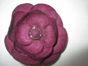 Handcrafted Floral Felted Brooch