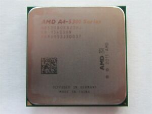 AMD AD530BOKA23HJ A4-5300 Series 3.40GHz Dual-Core Socket FM2 904 CPU Processor