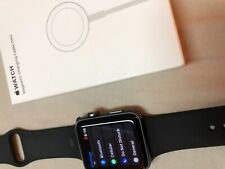 Apple Watch Series 3 Cellular+GPS Unlocked Aluminum - Space Grey/Black