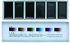 NEW Boku-Undo Solid Sumi Ink ink‐cake 6 Color Set Painting Gansai Japan