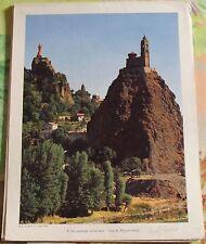 1954 un Paysage Volcanique : Vue du Puy-en-Velay Massif-Central départ. 43