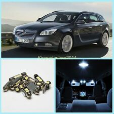 11x Canbus Super White Car LED Light Package Kit For Opel Insignia Sports Tourer