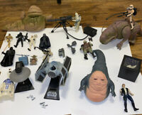 Star Wars POTF Large LOT- Kenner Hasbro Yoda Vader Mandalorian UPS Same Day Ship