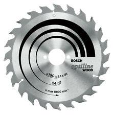 160x20/16 Bosch 2 608 640 597 Optiline Wood Lama per Sega circolare 160 (c0a)