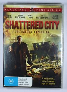 Shattered City The Halifax Explosion DVD NEW FREE POST