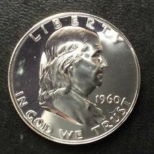 1960-P Franklin Half Dollar BU Gem Proof Silver U.S. Coin A5654