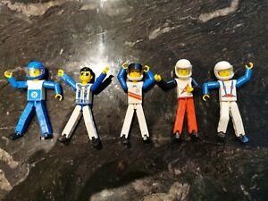 Lego Technic Figures Racing Team x 5
