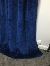 COTTON VELVET CURTAINS -MANY COLOURS AND SIZES AVALAIBLE