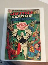 Justice league of america 43 (DC 1966) First Appearance of Royal Flush Gang! VG-