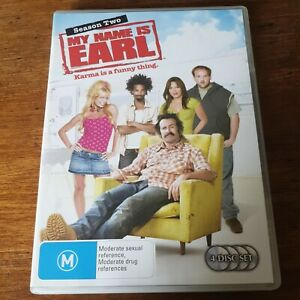 My Name is Earl Season Two DVD R4 Like New! FREE POST
