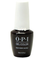 Opi GelColor New Gel Nail Polish Soak-Off Gc I43- Black Cherry Chutney