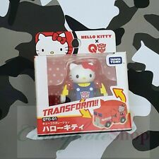 Takara Tomy Choro-Q Hello Kitty Transformers QTC-01