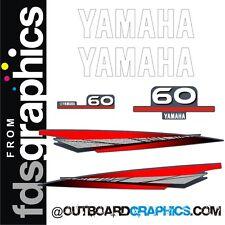 Motor Fuera De Borda Yamaha 60hp kit de gráficos/Sticker