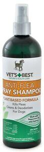 Vet's Best Anti-Flea Easy Spray Shampoo for Pets