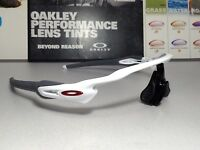 Oakley Radar EV Path Polished White w/ Red Oakley Icons - SKU# 9208-7238