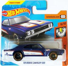 Voitures miniatures bleus de série Hot Wheels Muscle Mania