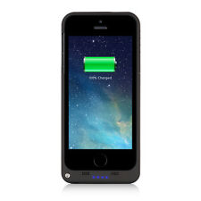 2200mAh External Battery Backup Charger Case + Kickstand & LED Indicator iPhone5