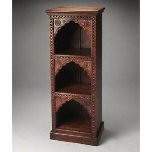 MADE TO ORDER Mehrab Indian Carved Jharokha Window bookshelf bookcase SMALL B16