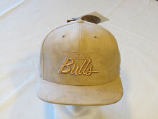 Men's Mitchell & Ness Micro Suede Snapback Hat Cap Chicago Bulls bsktbl one size
