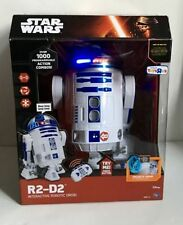 "STAR WARS R2-D2 THE FORCE AWAKENS 16"" INTERACTIVE ROBOTIC TOYS R US EXCLUSIVE"