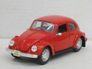 VW Käfer 1303 mit Lenkung in rot, Maisto, ohne OVP, 1:24