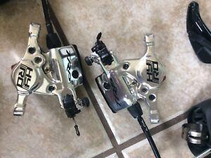TRP HY/RA brake calipers disc brakes for gravel/cyclocross
