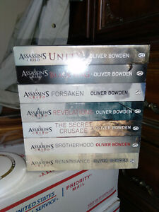 Assassins Creed Collection Oliver Bowden 7 Books Set NEW oversized paperbacks